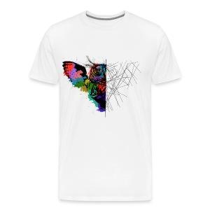 Owl desing - Men's Premium T-Shirt