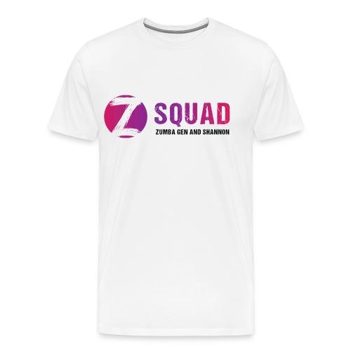 Z SQUAD LogoBLACK - Men's Premium T-Shirt