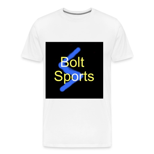Bolt Sports Black ! Collection - Men's Premium T-Shirt