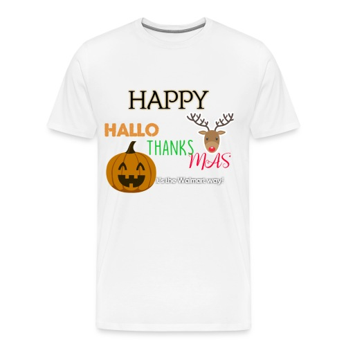 HAPPY HALLO-THANKS-MAS - Men's Premium T-Shirt