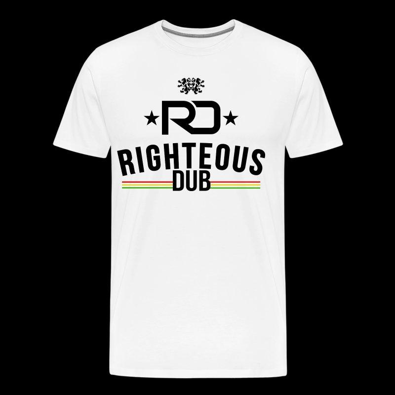 Righteous Dub Logo - Men's Premium T-Shirt
