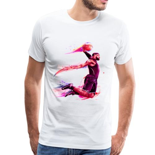 basketball man - Men's Premium T-Shirt