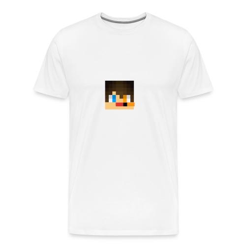 my skin face - Men's Premium T-Shirt