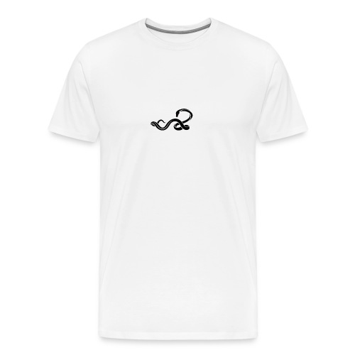 Classic Serpent Logo - Men's Premium T-Shirt