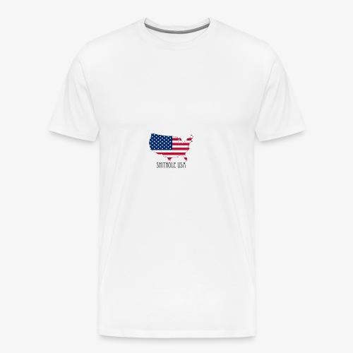 Shithole usa - Men's Premium T-Shirt