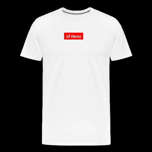 Lil Hernz Box Logo - Men's Premium T-Shirt