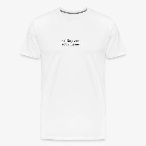 calling - Men's Premium T-Shirt
