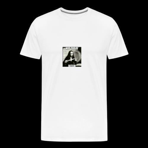 Not today - Men's Premium T-Shirt