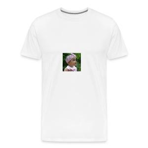 butterfly button - Men's Premium T-Shirt