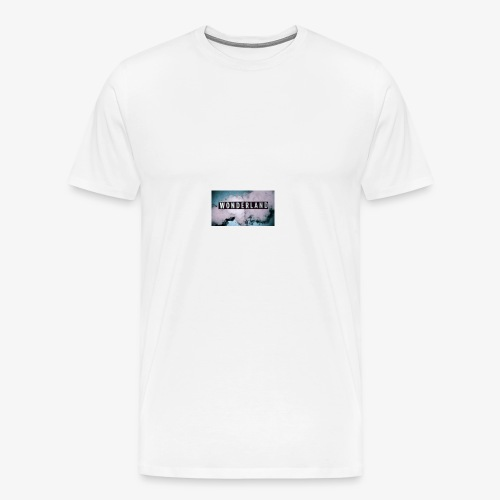 wonderland case - Men's Premium T-Shirt