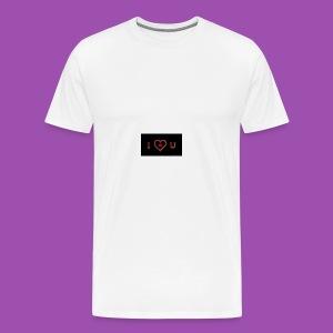 Love you - Men's Premium T-Shirt