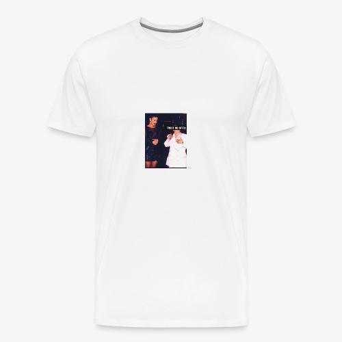 Trust no bitch - Men's Premium T-Shirt