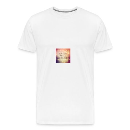 not perfect - Men's Premium T-Shirt