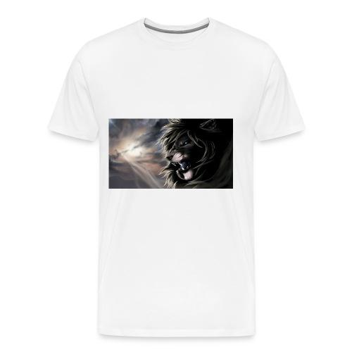 3D Lion tshirt - Men's Premium T-Shirt