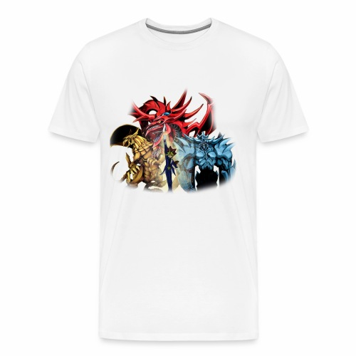 Yu Gi Oh God Cards Tshirt - Men's Premium T-Shirt