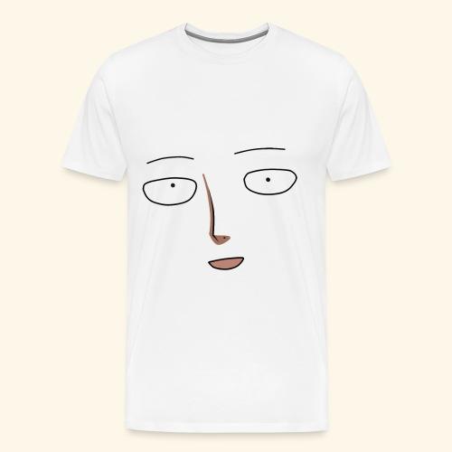 Saitama Egg Face - Men's Premium T-Shirt