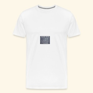 1 cross - Men's Premium T-Shirt