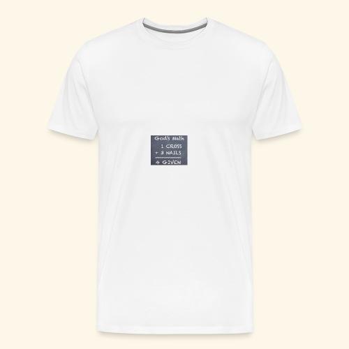 1 cross - Men's Premium T-Shirt