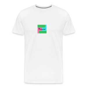 Thouser square logo - Men's Premium T-Shirt