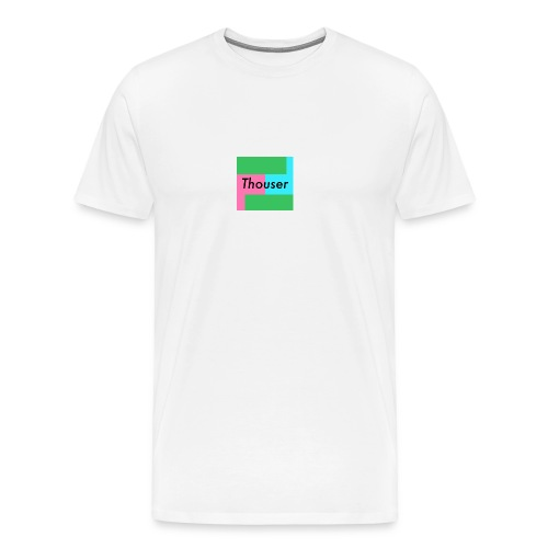 Thouser square logo - Men's Premium T-Shirt