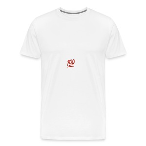 100 flawless - Men's Premium T-Shirt