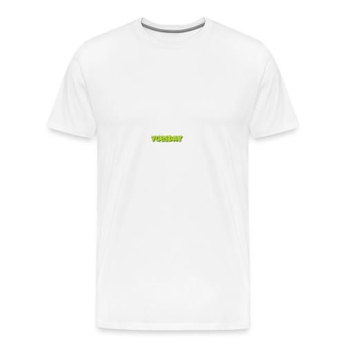 Tuesday designstyle summer m - Men's Premium T-Shirt