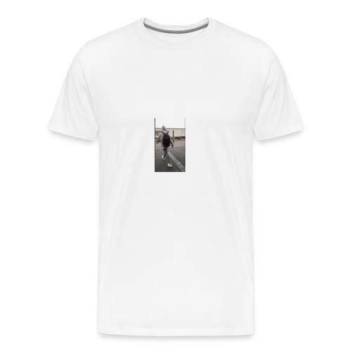 hoodie walker - Men's Premium T-Shirt