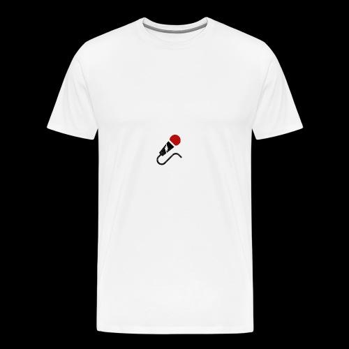 broken mic comedy - Men's Premium T-Shirt