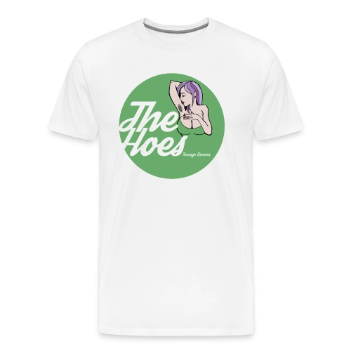 The Hoes Teenage Dreams Green - Men's Premium T-Shirt