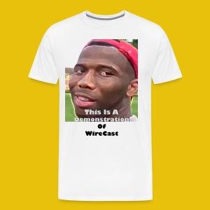 VTW: D-Lo Smith (WireCast) - Men's Premium T-Shirt