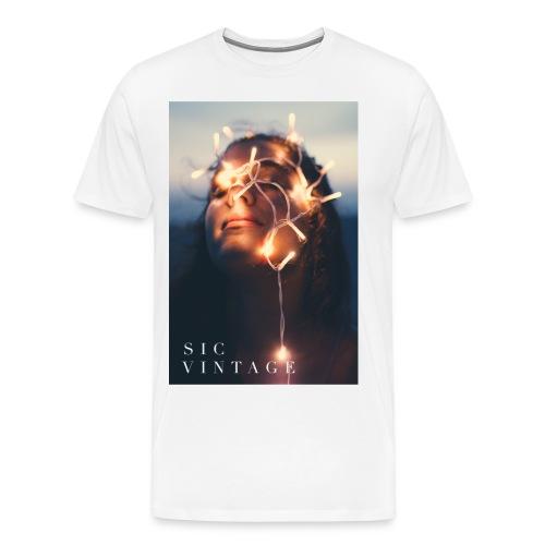 SicVintage Beauty in the Lignts - Men's Premium T-Shirt