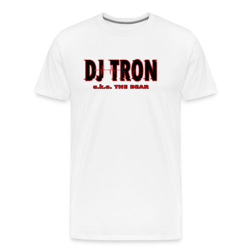 DJ tron logo 2 - Men's Premium T-Shirt