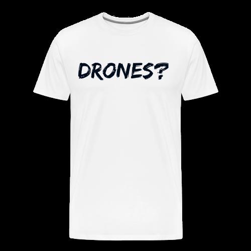 Drones font 1 - Men's Premium T-Shirt