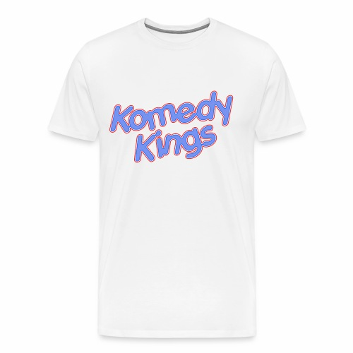 KomedyKings Brand Name Tee - Men's Premium T-Shirt
