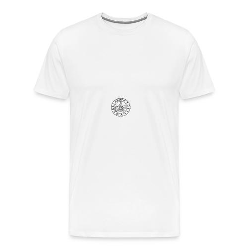 italian warrior - Men's Premium T-Shirt