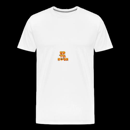 Up Til Noon Water Bottle - Men's Premium T-Shirt