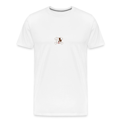 Daisy Dog - Men's Premium T-Shirt