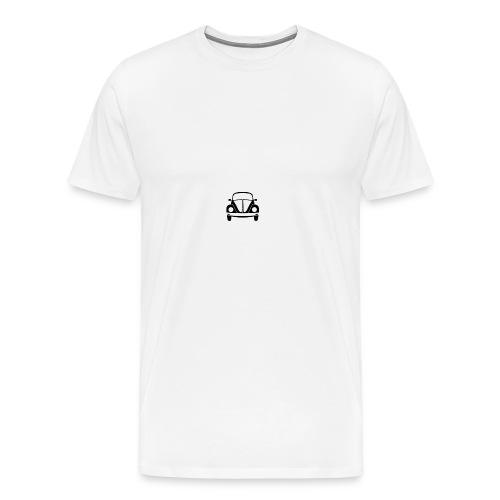 vw-beetle-icon-1573-01 - Men's Premium T-Shirt