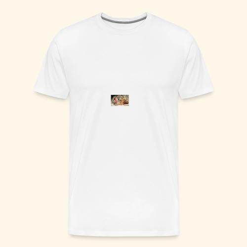 Friendship with a Tiger - Men's Premium T-Shirt