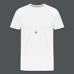 Bossu Design Logo - Men's Premium T-Shirt