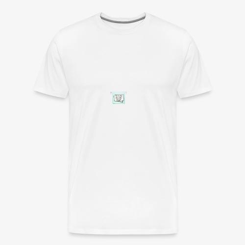 My favorite Muggle Harry Potter - Men's Premium T-Shirt