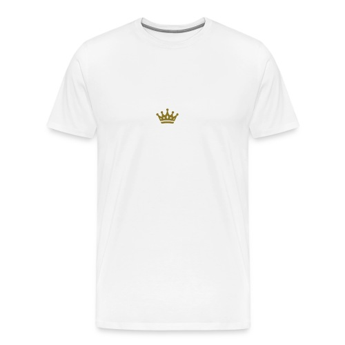 Gold crown - Men's Premium T-Shirt