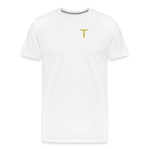 ''Small T'' Taylor Shorty Initial - Men's Premium T-Shirt