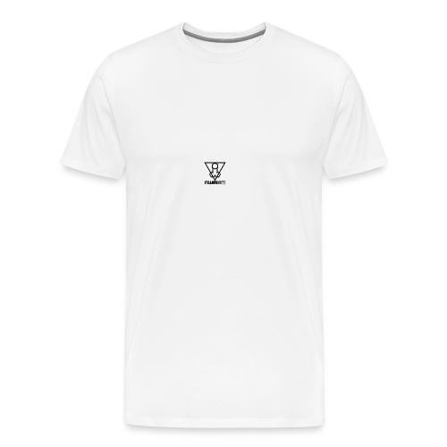 Falluminati on your phone by Umberto Lizard - Men's Premium T-Shirt