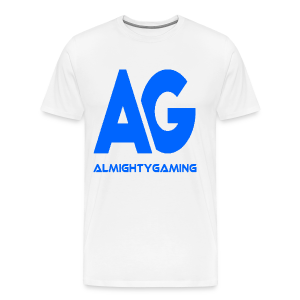 AlmightyGaming (Blue Edition!) - Men's Premium T-Shirt