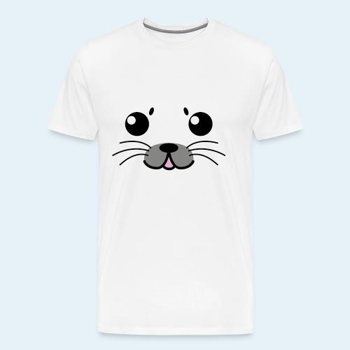 Baby seal (Puppies) - Men's Premium T-Shirt