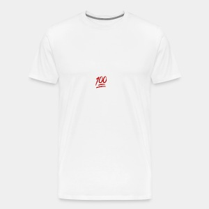keep it 100 - Men's Premium T-Shirt