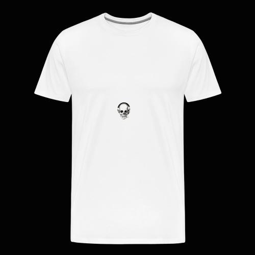 Yung J skull - Men's Premium T-Shirt