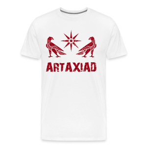Artaxiad Coat of Arms - Red - Men's Premium T-Shirt