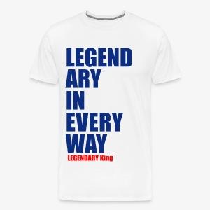 Legendary King - Men's Premium T-Shirt